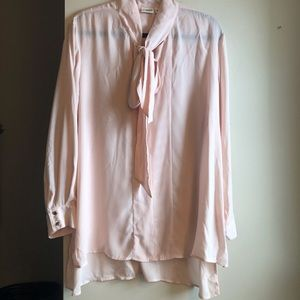 Cato's fashion blouse with collard bow